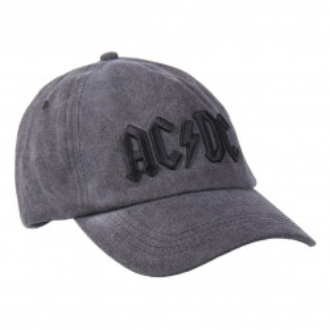 Sapca AC / DC cu logo brodat, Back in Black, 58 cm