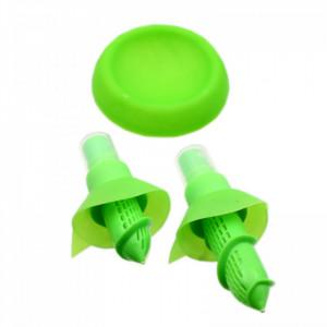 Set 2 bucati, Pulverizator cu suport pentru citrice, Verde