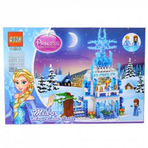 Set de constructie Lego, Castelul magic de zapada al Miei, 355 Piese