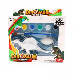 Set de Pictat Figurina in miniatura Dinozaur - Spinosaurus, tempera, culori acrilice, 16 cm