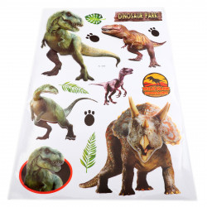 Set Stiker 3D, Dinozauri pentru copii, decor, FL-005 Multicolor