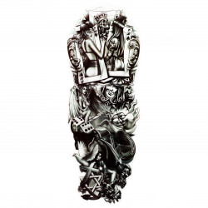 Tatuaj temporar, Carti de joc, QB057, 43 x 14 cm