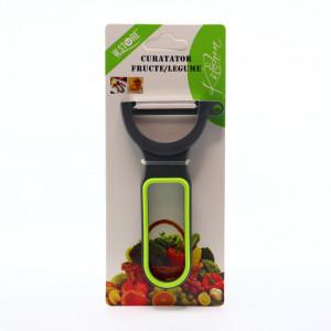 Accesoriu pentru decojire legume si fructe, lame din inox