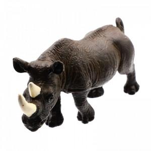 Figurina animal salbatic, Rinocer, 12 cm