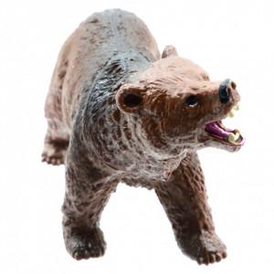 Figurina animal salbatic, Ursul Brun, 9 cm