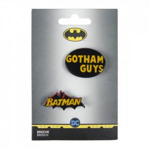 Insigna Batman Gotham Guys, 4.5 x 3.5 cm