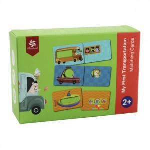 Joc educativ Carduri Asocieri Autovehicule