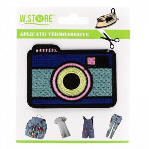 Petic textil / patch brodat, Aparat de fotografiat