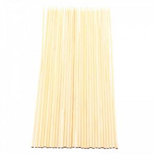 Set 30 buc, Bete / Tepuse pentru frigarui din bambus, 35 x 0.5 cm