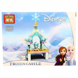 Set de constructie, Castelul de gheata Frozen, 84 piese
