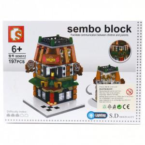Set de constructie Lego, Bar cu cafenea, 197 piese