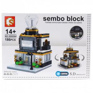 Set de constructie Lego, Magazin bijuterii cu diamante, 186 piese