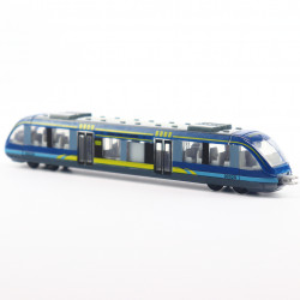 Trenulet de jucarie, 16,5 cm, Albastru