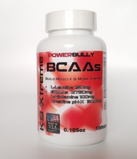Аминокиселини K9 Xtreme Muscle Power Bully 100 таблетки