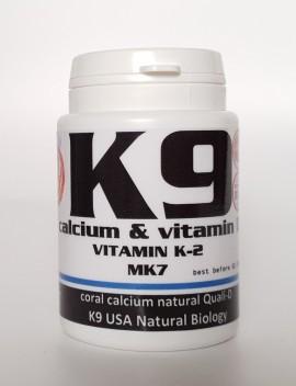 K9 Калций, витамин D и магнезий 120 таблетки