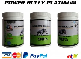 Протеин POWER BULLY 98% Platinum 500гр.