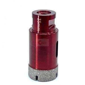 Carota diamantata pt. gresie portelanata & piatra - diam. 35mm - Premium - DXDH.80408.35