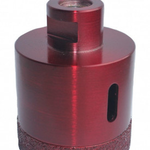 Carota diamantata pt. gresie portelanata & piatra - diam. 65mm - Premium - DXDH.80408.65