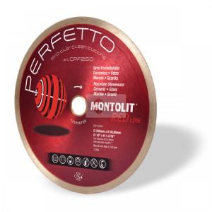 Disc diamantat Montolit CPF200 - taiere cu apa - pt. portelan, placi ceramice glazurate, sticla, etc.