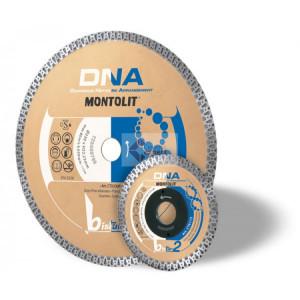 Disc diamantat Montolit DNA CTX230F - taiere uscata - pt. portelan,granit, etc.