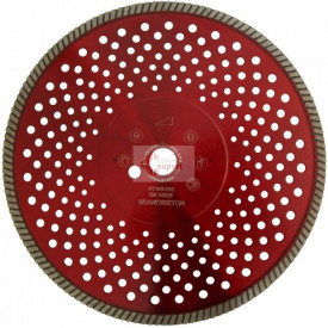 Disc DiamantatExpert pt. Granit & Piatra - Turbo 350x25.4 (mm) Super Premium - DXDH.2677.350.25