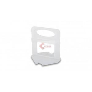 Distantieri Autonivelare Clipsuri Delta pt. nivelare placi ceramice 1.5mm, 100buc. - RUBI-2846