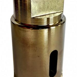 Carota diamantata pt. gresie portelanata & piatra - diam. 20mm - Super Premium - DXDH.80407.20
