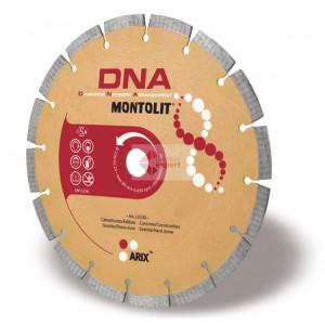 Disc diamantat Montolit DNA LX400 - taiere uscata - pt. beton, granit, piatra dura, etc.