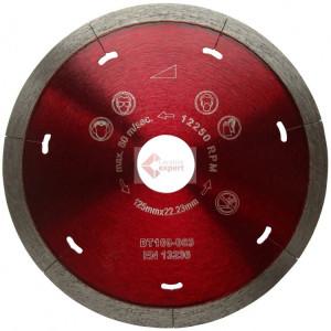 Disc DiamantatExpert pt. Ceramica Dura & Portelan - Rapid 115x22.2 (mm) Super Premium - DXDH.3907.115