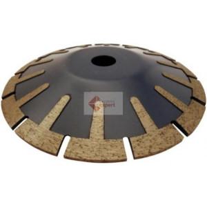 Disc DiamantatExpert pt. taiere curbata in piatra, granit, placi 125x22.2 (mm) Premium - DXDH.5517.125