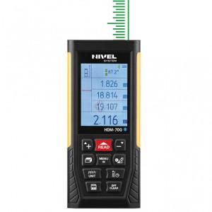 Telemetru cu laser verde & USB/Bluetooth 70m, HDM-70G - Nivel System