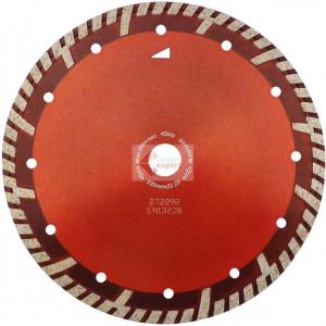 Disc DiamantatExpert pt. Beton armat & Granit - Turbo GS 350x25.4 (mm) Super Premium - DXDH.2287.350.25