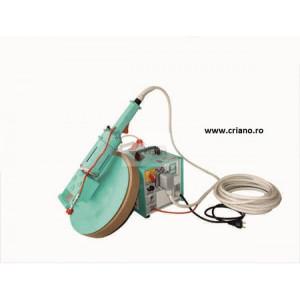 Drisca electrica - Finisare umeda tencuieli si gleturi mecanizate - Masina de driscuit