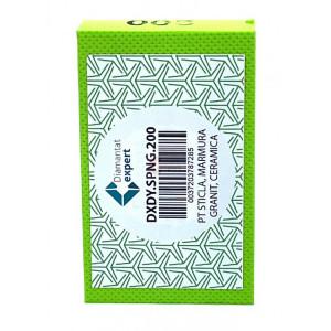 Burete diamantat pt. slefuiri / finisari - # 200 - granit, piatra, portelan, sticla 90x55mm Super Premium - DXDY.SPNG.200