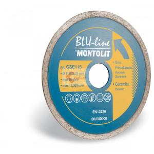 Disc diamantat Montolit CSE115 - taiere uscata - pt. placi ceramice, portelan, etc.