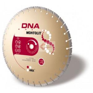 Disc diamantat Montolit DNA SX350 - taiere cu apa - pt. beton