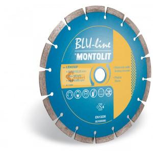 Disc diamantat Montolit LEH230P - taiere uscata - pt. materiale de constructii