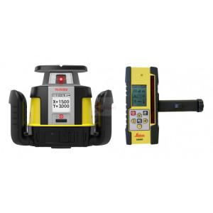 Set Nivela Laser Rotativa Rugby CLH cu CLX200 - Leica-6012276