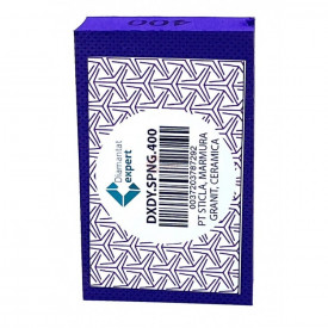 Burete diamantat pt. polish - # 400 - granit, piatra, portelan, sticla 90x55mm Super Premium - DXDY.SPNG.400