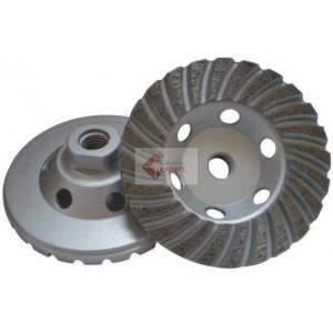 Cupa diamantata Turbo pt. Beton 100xM14 Profesional Standard - DXDH.4817.100-M14