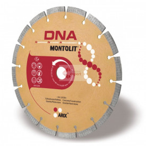 Disc diamantat Montolit DNA LX125 - taiere uscata - pt. beton, granit, piatra dura, etc.
