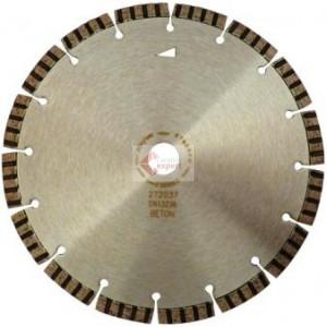 Disc DiamantatExpert pt. Beton armat / Mat. Dure - Turbo Laser 125x22.2 (mm) Premium - DXDH.2007.125