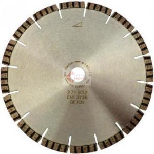 Disc DiamantatExpert pt. Beton armat & Piatra - Turbo Laser SANDWICH 350x25.4 (mm) Premium - DXDH.2097.350.25-SW
