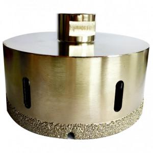 Carota diamantata pt. gresie portelanata & piatra - diam. 82mm - Super Premium - DXDH.80407.82