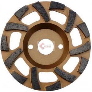 "Cupa diamantata ""ventilator"" - Beton dur & Abrazive 115x22.2mm Premium - DXDH.4612.115"