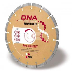 Disc diamantat Montolit DNA LXS230 - taiere uscata - pt. beton, granit, piatra dura, etc.