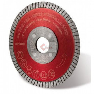 Disc diamantat Montolit TCS115R - taiere uscata - pt. portelan, placi ceramice dure, etc.