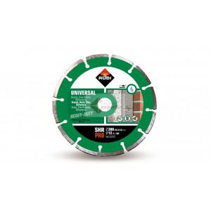 Disc diamantat pentru materiale constructii Rubi SHR 350 PRO - taiere cu apa