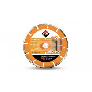 Disc diamantat pt. materiale abrazive 125mm, SON 125 SuperPro - RUBI-32903