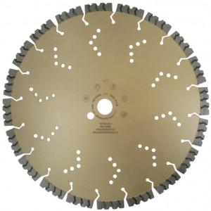 Disc DiamantatExpert pt. Beton armat extrem de dur & piatra - SHARK 400x25.4 (mm) Super Premium - DXDH.2040.400.25